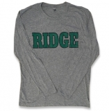 Long Sleeve T-Shirt-GREY - $15