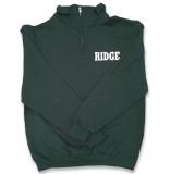 Quarter Zip Sweatshirt - GREEN - $35